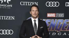 Herec Chris Pratt na premiére filmu Avengers: Endgame nechýbal.