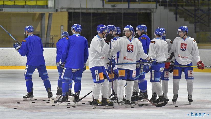 hokejisti, tréning, Piešťany