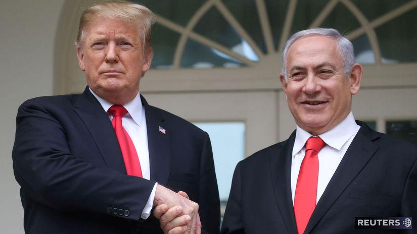 Izrael / USA / Donald Trump / Benjamin...