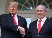 Izrael / USA / Donald Trump / Benjamin Netanjahu / Golanské výšiny /