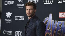 Nechýbal ani Chris Hemsworth, predstaviteľ Thora.