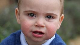 Princ Louis na zábere, ktorý zhotovila jeho mama Catherine, vojvodkyňa z Cambridge.