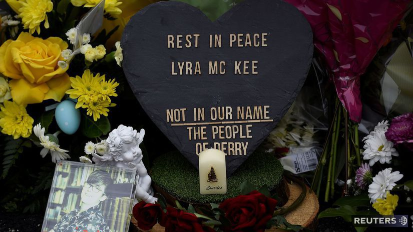 severné írsko, londonderry, vražda, novinárka,...
