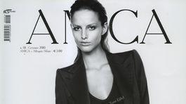 Topmodelka Michaela Kocianová na obálke magazínu AMICA.