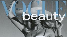 Topmodelka Michaela Kocianová na obálke Vogue Italia Beauty.