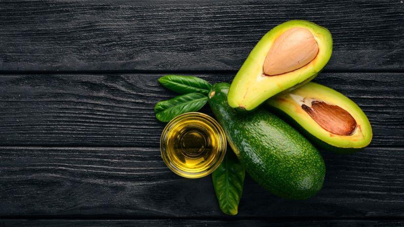 avokádo, avokádový olej, kozmetika