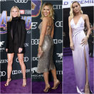 Zľava: Gwyneth Paltrow, Scarlett Johansson a Brie Larson.