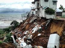 afrika, juhoafrická republika, povodne, záplavy, trosky