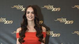 Finalistka súťaže Miss Slovensko s číslom 2 Alica Ondrášová.