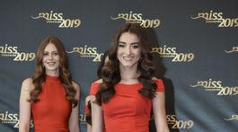 Finalistka súťaže Miss Slovensko s číslom 3 Patrícia Junasová.