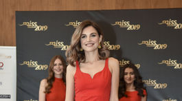 Finalistka súťaže Miss Slovensko s číslom 4 Frederika Kurtulíková.
