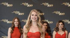 Finalistka súťaže Miss Slovensko s číslom 9 Ema Mészárosová.