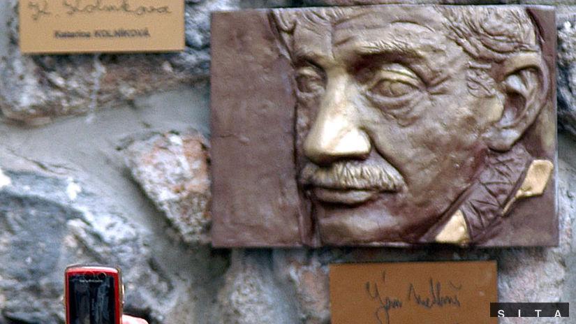 Ján Melkovič Ulička slávnych nosov