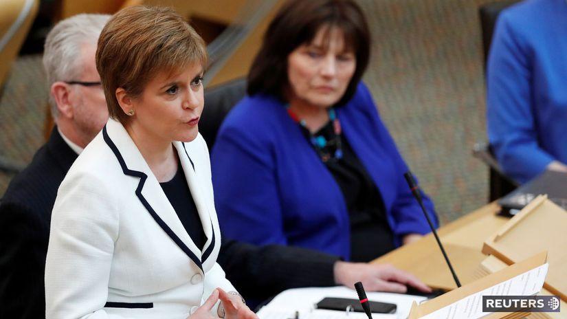 Škótsko / refendum o nezávislosti / Nicola...