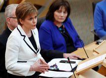 Škótsko / refendum o nezávislosti / Nicola Sturgeonová /