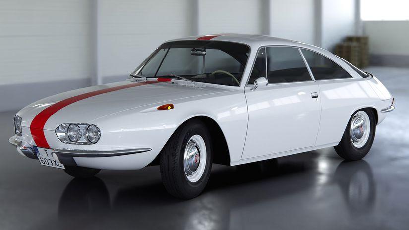 Tatra 603X Coupe model auta