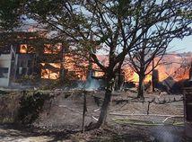 VIDEO: Ničivý požiar v Bratislave. Jedna obeť, osem zranených