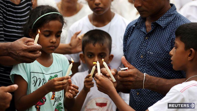 Srí Lanka / bombové útoky /