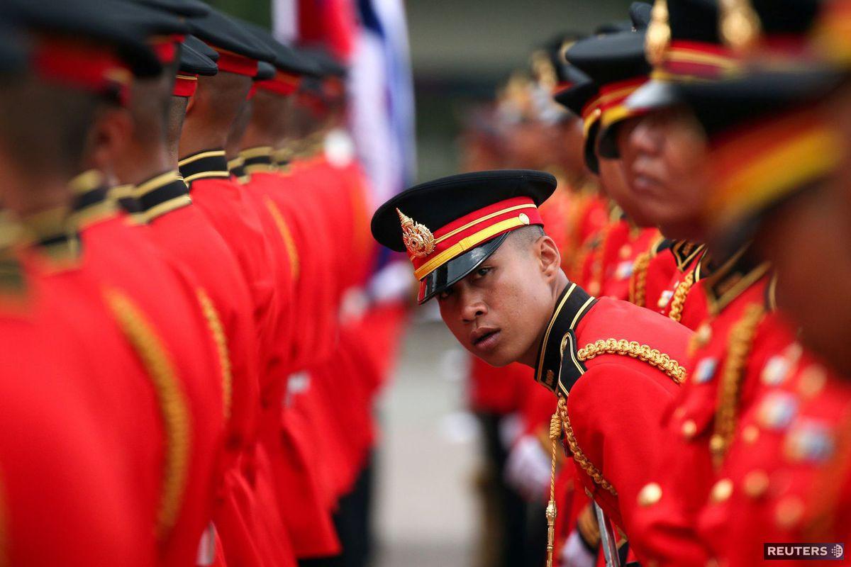 Thajsko, vojaci