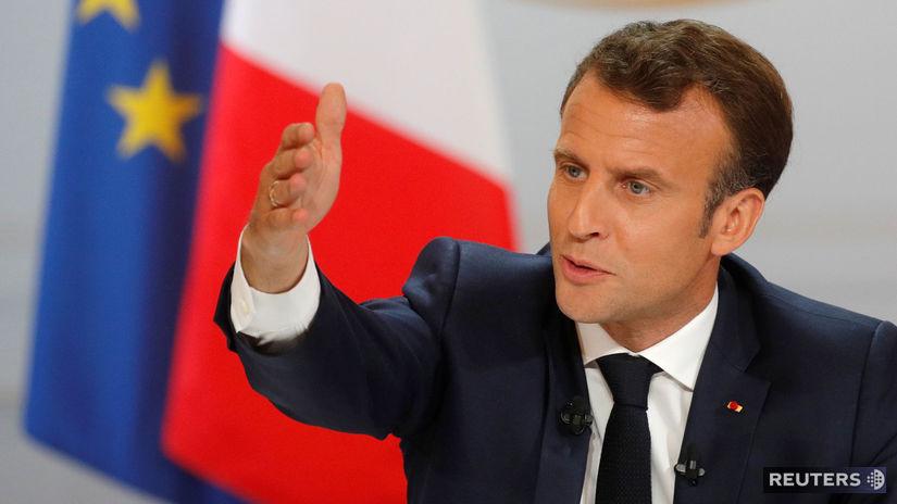 macron, francúzsko,