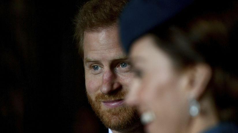 Princ Harry a jeho švagriná Catherine,...