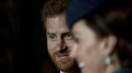 Princ Harry a jeho švagriná Catherine, vojvodkyňa z Cambridge.
