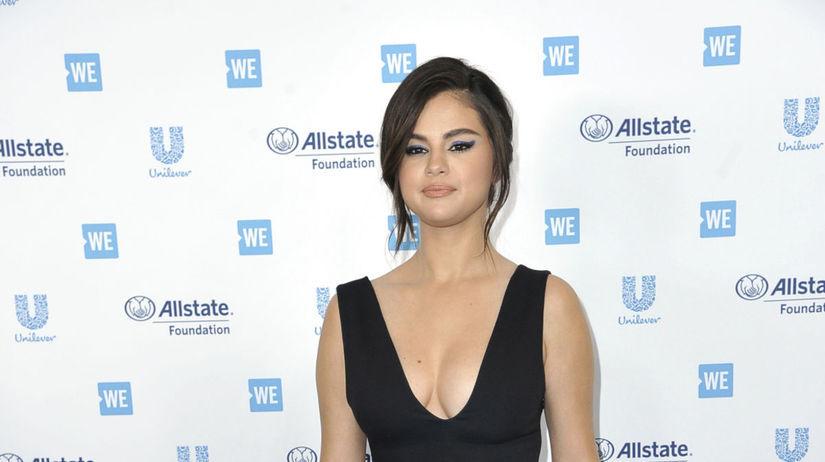 Speváčka a herečka Selena Gomez na akcii WE Day...