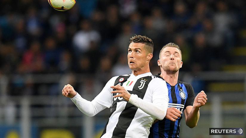 Milan Škriniar, Cristiano Ronaldo