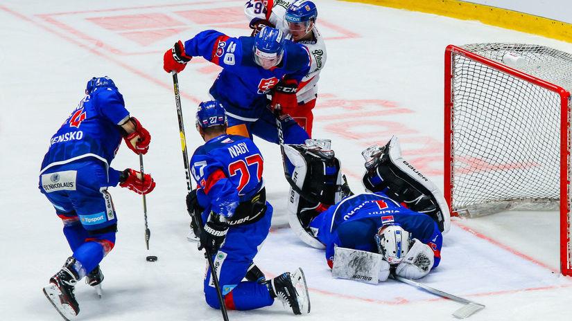 Slovensko, Česko, hokej