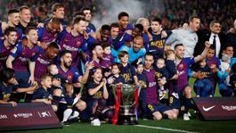 Barcelona, trofej