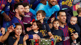 Lionel Messi, Sergio Busquets