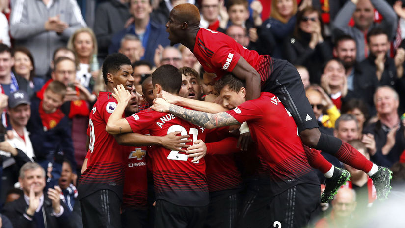 Manchester United, radosť