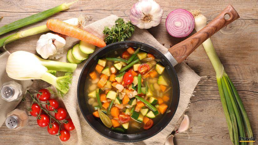 Minestrone, jarná zelenina