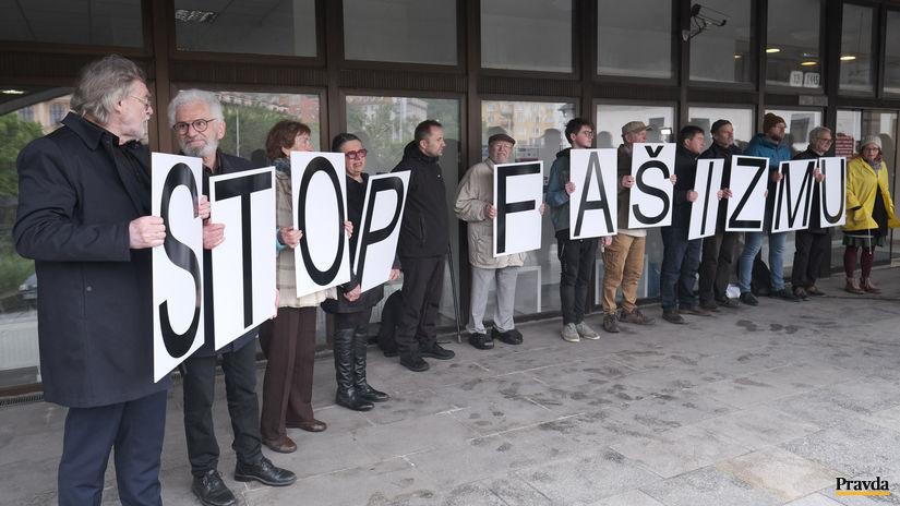 ľsns, stop fašizmu