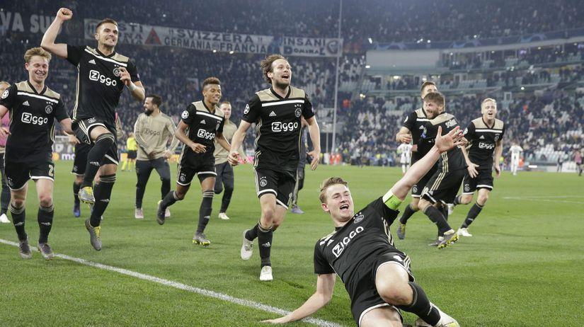 Taliansko futbal LM Juventus Ajax štvrťfinále