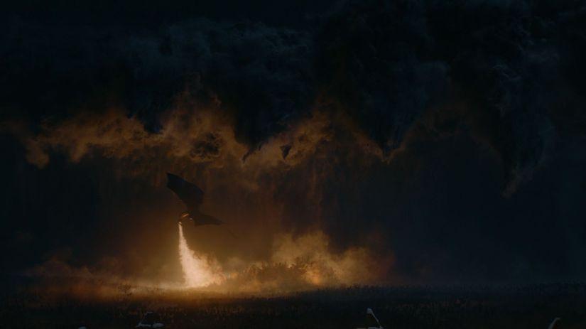 hra o tróny, game of thrones, drak, nočný kráľ,