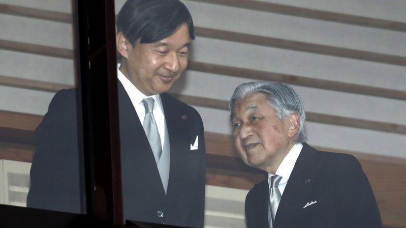 Japonsko, abdikácia, cisár Akihito, Naruhito