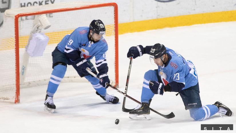 HOKEJ-KHL: Bratislava Slovan sukeľ