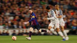 Lionel Messi, Fabinho, Virgil van Dijk