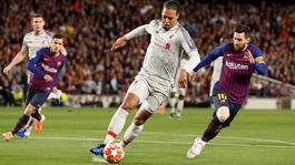 Virgil van Dijk, Lionel Messi