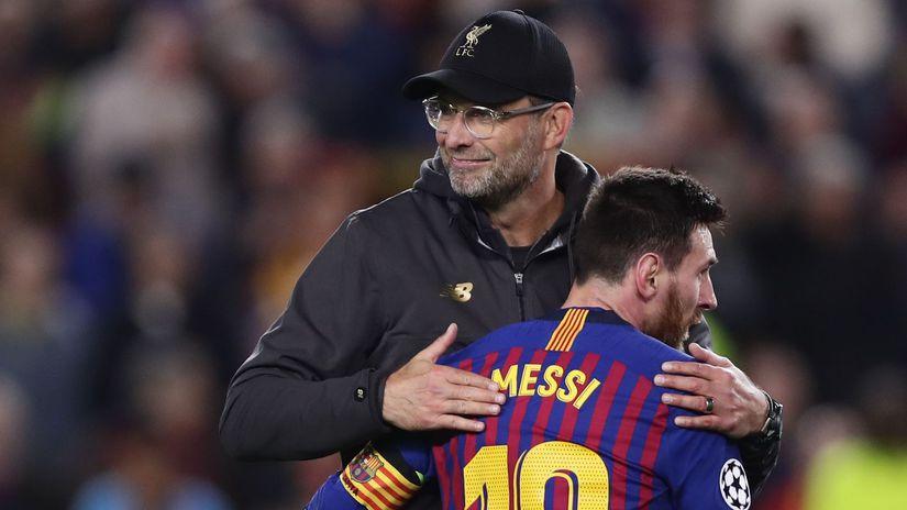 Jürgen Klopp, Lionel Messi
