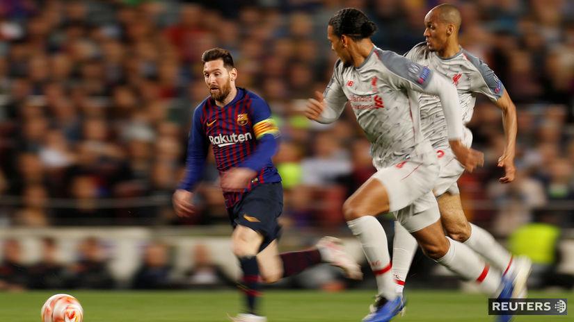 Messi, Van Dijk, Fabinho
