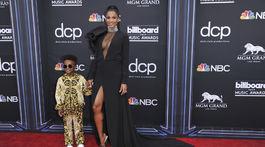 Speváčka Ciara a jej syn Future Zahir Wilburn.