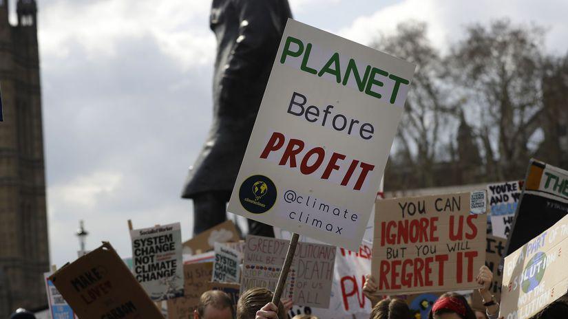 Veľká Británia / Klimatická zmena /