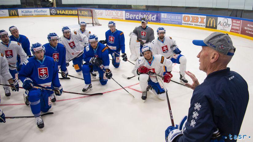 Craig Ramsay, hokejisti Slovenska