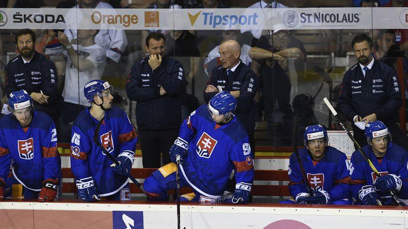 slovensko, hokej, striedačka