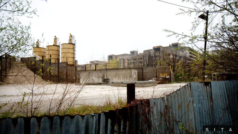 BRATISLAVA, Nemocnica Rázsochy, skelet
