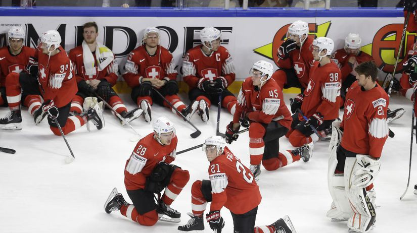Denmark Hockey Worlds Švajčiarsko hokej MS