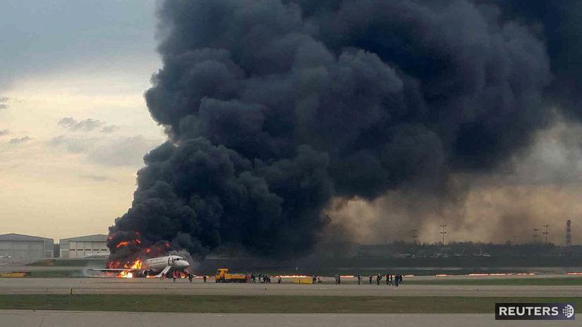 Rusko, lietadlo, havária, nepouzivat!