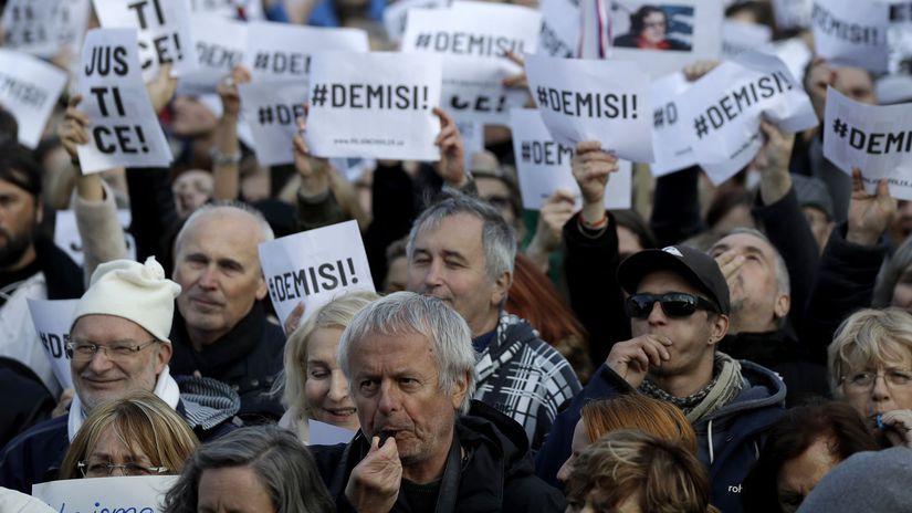 Czech Republic Protest